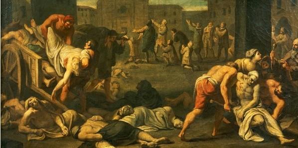 흑사병(黑死病, Black Death)은 인류 역사에 기록된 최악의 범유행 사건 가운데 하나이다. 유럽 지역에서는 1346년–1353년 사이 범유행이 절정에 달했으며, 이 범유행으로 유라시아 대륙에서 최소 7500만, 최고 2억 명에 달하는 사람들이 죽었다. (위키백과, '흑사병')