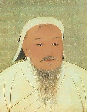 칭기즈 칸(한자: 成吉思汗, 1155/62/67년? 4월 16일~1227년 8월 25일)