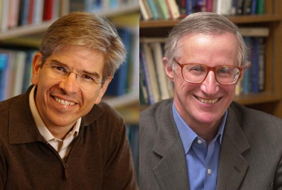 폴 로머(왼쪽),