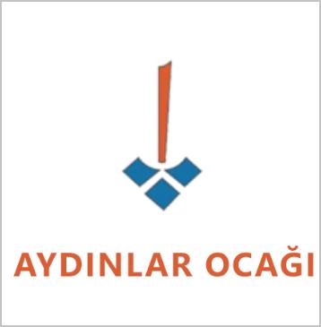 '계몽의 화덕' 로고와 심볼 (출처: aydinlarocagi.org) http://aydinlarocagi.org/