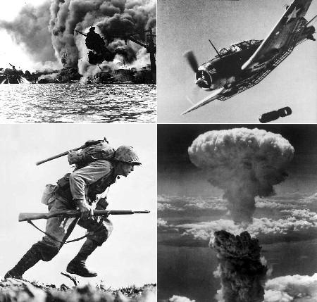 태평양전쟁(1941년 12월 7일 ~ 1945년 9월 2일)