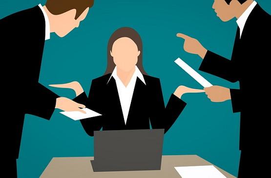 스트레스 화 짜증 관계 직장 직업 관계