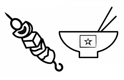 조치원에서 외국인 식당은 그 나라 사람들의 커뮤니티 센터로 역할한다.