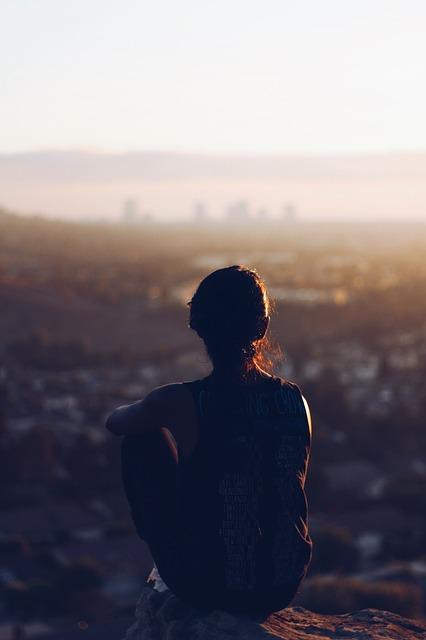 혼자 여행 사색 생각 외로움 솔로