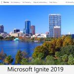 마이크로소프트 이그나이트 2019