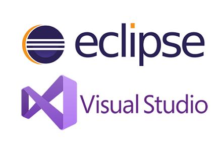 대표적인 IDE '이클립스'와 '비주얼 스튜디오'