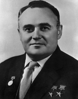 소련 우주개발의 아버지 세르게이 파블로비치 코롤료프(러시아어: Серге́й Па́влович Королёв, 1907년 1월 12일 ~1966년 1월 14일)