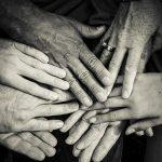 손 협력 가족 화합 인간 휴머니즘 복지 돌봄