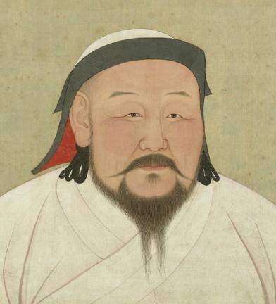 칭기스 칸의 손자이자 대원의 제5대 카안 쿠빌라이 칸(1215년 9월 23일 ~ 1294년 2월 18일)