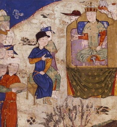 1259년 남송 원정 중에 병사한 제4대 대칸 뭉케 카안(1209년 1월 10일 ~ 1259년 8월 11일)