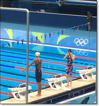 네 번째 올림픽이었던 2016년 리우 올림픽 출전 당시.