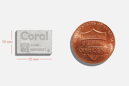 신형 코럴 가속 모듈 (이미지 제공: 구글)
