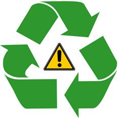 재활용은 권장하지 않는다. 하지만 재활용한다면 주의가 필요하다.