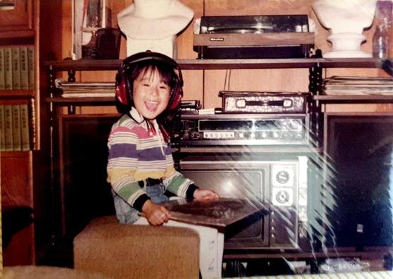 안국희 선생의 어린 시절. 그녀는 5살 때 MBC '뽀뽀뽀' 공익 광고에 출연했다.