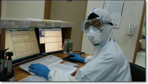 2015년 메르스 사태 당시 근무하던 김포 병원에서