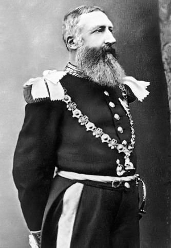 벨기에 왕국의 2대 왕 레오폴 2세(프랑스어: Léopold Louis Philippe Marie Victor, 1835년 4월 9일 ~ 1909년 12월 17일, 퍼블릭 도메인)