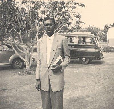 1950년대 젊은 시절의 루뭄바 (International Institute of Social History, Amsterdam, CC BY SA 3.0)