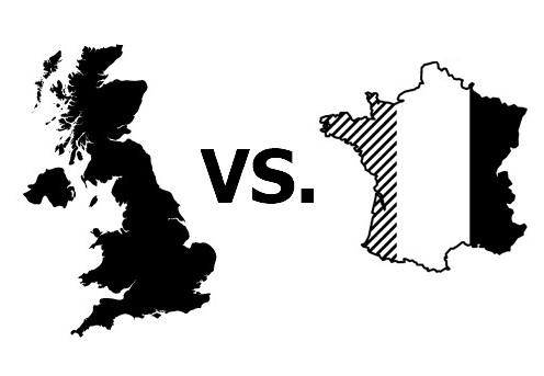 프랑스는 중동 등 '핵심 지역'에서 영국에 매번 밀렸다.