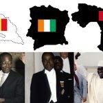 서아프리카 삼국지: 프랑스령 삼국의 엇갈린 운명