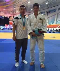 2015년 카자흐스탄 세계선수권 대회 –90kg급 곽동한 선수 금메달 획득 당시