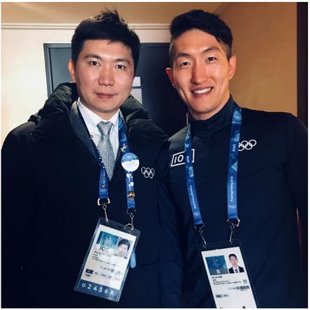 2018년도 평창올림픽 개막 전 유승민 IOC 위원 수행업무 지원