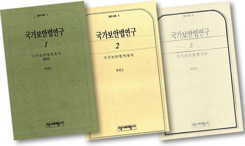 박원순, 국가보안법연구 (역사비평사)