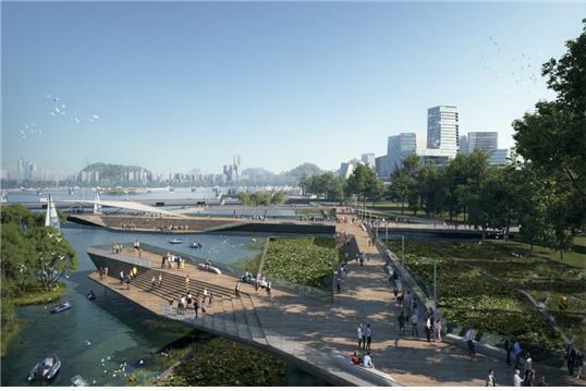 넷 시티의 상상도 (사진 제공: NBBJ)