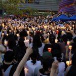 샛길, 2008년 5월 3일 청계광장 미국산 쇠고기 반대 시위, CC BY SA http://byway69.tistory.com/