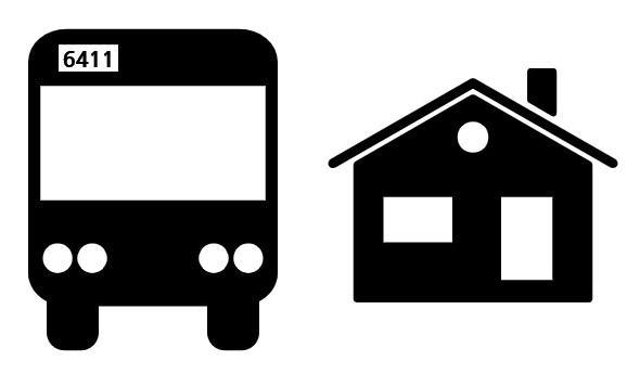 집 버스 6411 부동산
