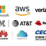 클라우드 AWS MS 버라이즌 IBM AT&T 레드햇 화웨이 CEC