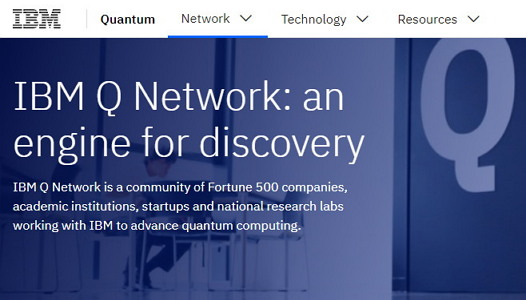 IBM 'Q 네트워크' https://www.ibm.com/quantum-computing/network/overview/
