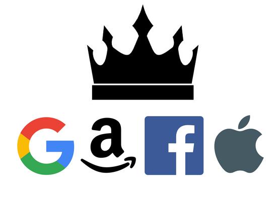 디지털 플랫폼을 장악한 'GAFA '