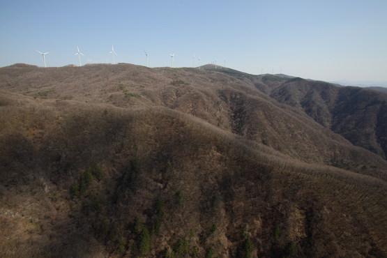 태기산 전경