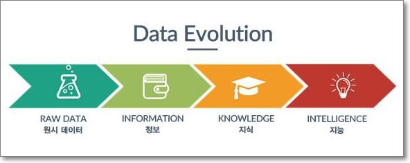 데이터의 진화 형태